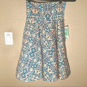 Honey and Lace l Ventura A-line Skirt l Floral XS